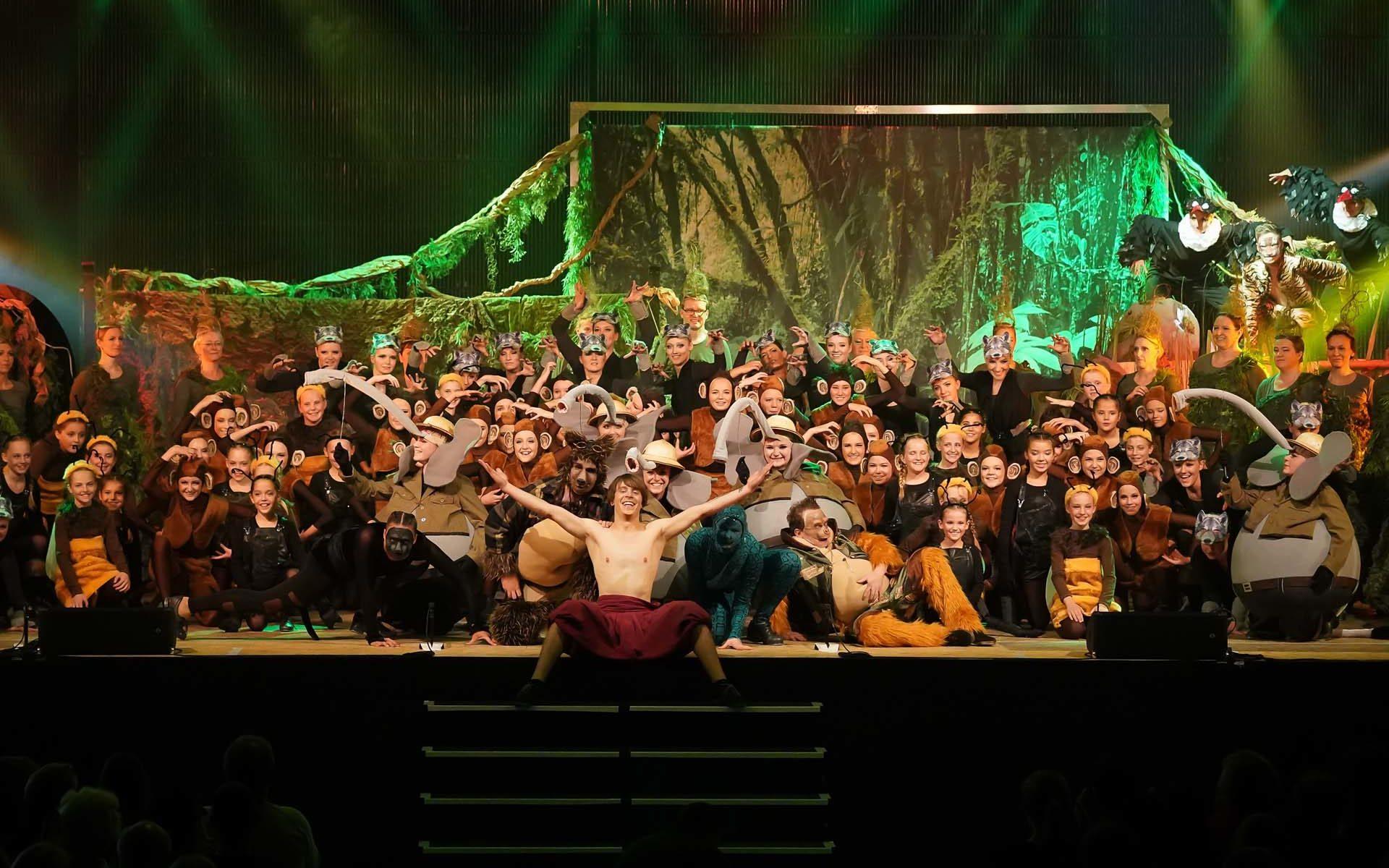 PT on Stage - Dschungelbuch Schlußbild